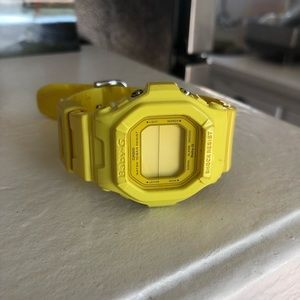 """Classic Canary Yellow """"Baby-G"""" G Shock Watch"""